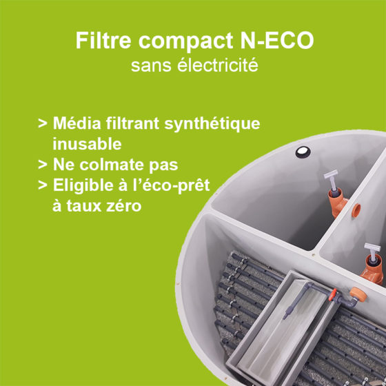 Filtre compact N-ECO