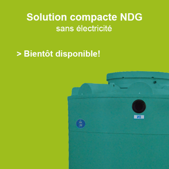 Solution compact NDG